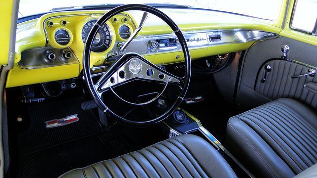 1957 Chevrolet 150 POST SEDAN HOLLYWOOD KNIGHTS STYLE Phoenix, Arizona 1