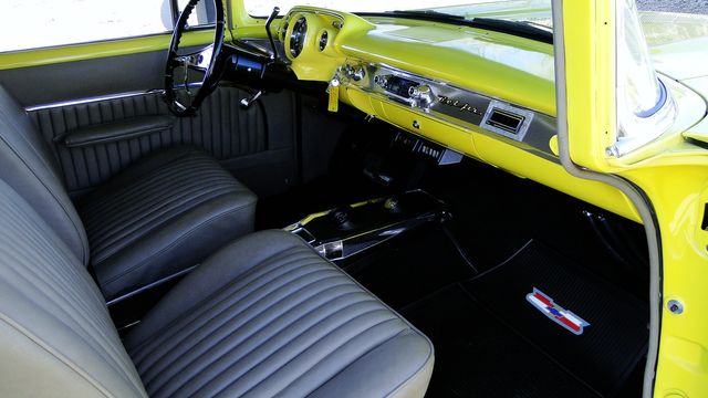 1957 Chevrolet 150 POST SEDAN HOLLYWOOD KNIGHTS STYLE Phoenix, Arizona 9
