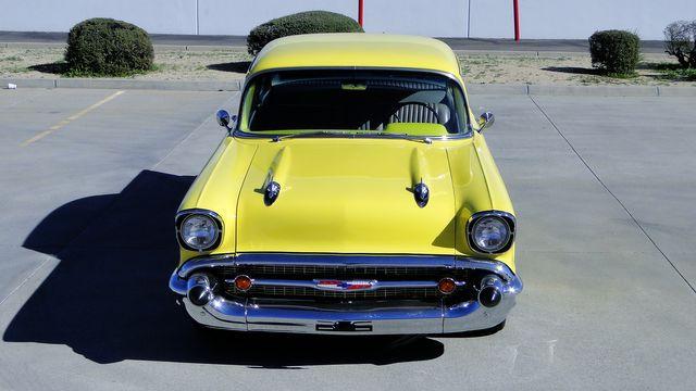 1957 Chevrolet 150 POST SEDAN HOLLYWOOD KNIGHTS STYLE Phoenix, Arizona 12