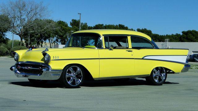1957 Chevrolet 150 POST SEDAN HOLLYWOOD KNIGHTS STYLE Phoenix, Arizona 24