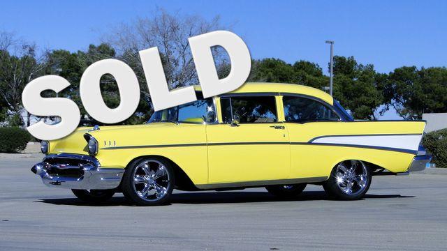 1957 Chevrolet 150 POST SEDAN HOLLYWOOD KNIGHTS STYLE Phoenix, Arizona 0