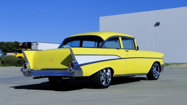 1957 Chevrolet 150 POST SEDAN HOLLYWOOD KNIGHTS STYLE Phoenix, Arizona 14