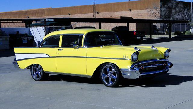 1957 Chevrolet 150 POST SEDAN HOLLYWOOD KNIGHTS STYLE Phoenix, Arizona 23
