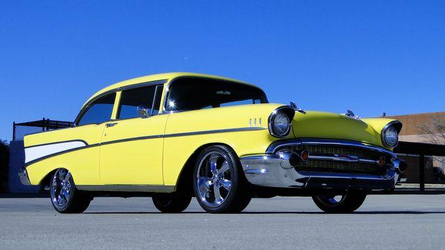 1957 Chevrolet 150 POST SEDAN HOLLYWOOD KNIGHTS STYLE Phoenix, Arizona 33