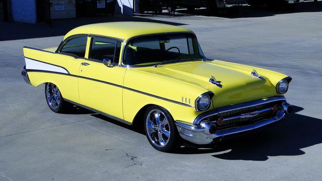 1957 Chevrolet 150 POST SEDAN HOLLYWOOD KNIGHTS STYLE Phoenix, Arizona 26