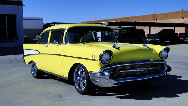 1957 Chevrolet 150 POST SEDAN HOLLYWOOD KNIGHTS STYLE in Phoenix, Arizona 85027