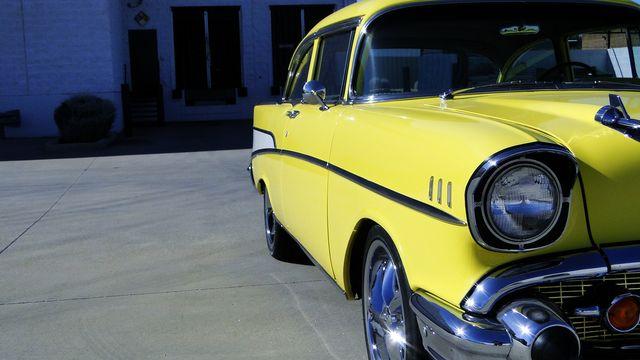 1957 Chevrolet 150 POST SEDAN HOLLYWOOD KNIGHTS STYLE Phoenix, Arizona 44