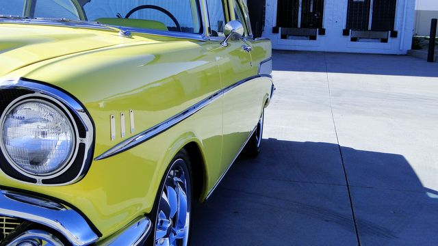 1957 Chevrolet 150 POST SEDAN HOLLYWOOD KNIGHTS STYLE Phoenix, Arizona 45