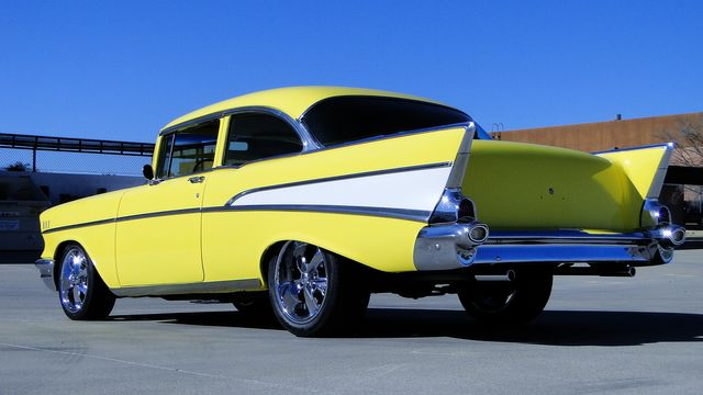 1957 Chevrolet 150 POST SEDAN HOLLYWOOD KNIGHTS STYLE Phoenix, Arizona 32