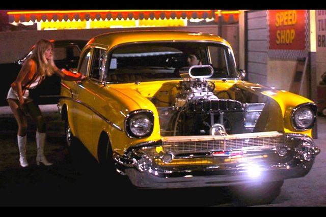 1957 Chevrolet 150 POST SEDAN HOLLYWOOD KNIGHTS STYLE Phoenix, Arizona 54