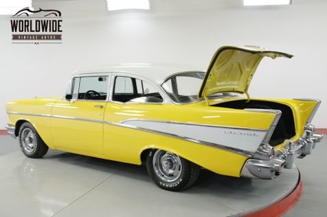 1957 Chevrolet 210 BELAIR TRIM 4 SPEED V8 POWER DISC BRAKES | Denver, CO | Worldwide Vintage Autos in Denver, CO