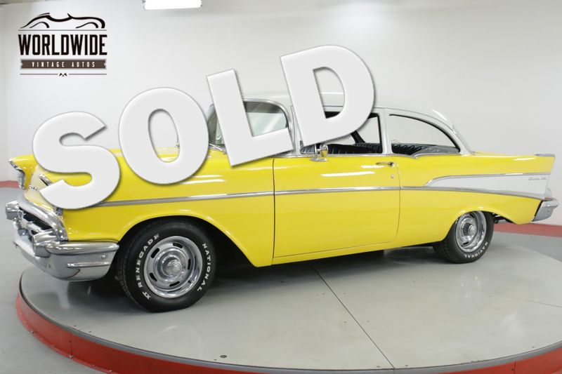 1957 Chevrolet 210 BELAIR TRIM 4 SPEED V8 POWER DISC BRAKES | Denver, CO | Worldwide Vintage Autos