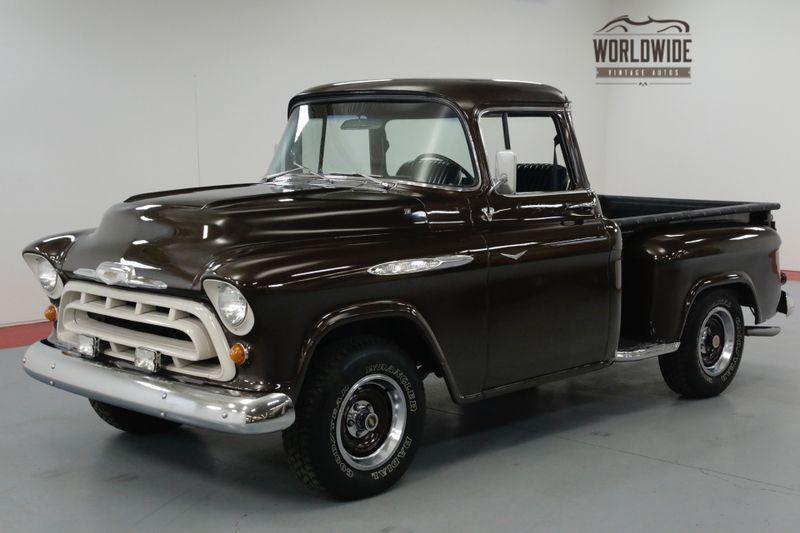 1957 Chevrolet 3100 RESTORED STREET ROD. BIG WINDOW. V8. PS PB.     Denver, CO   Worldwide Vintage Autos
