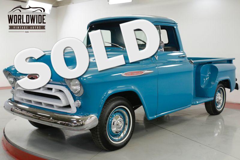 1957 Chevrolet 3100 RESTORED STOCK EXCELLENT CONDITION UPGRADES | Denver, CO | Worldwide Vintage Autos