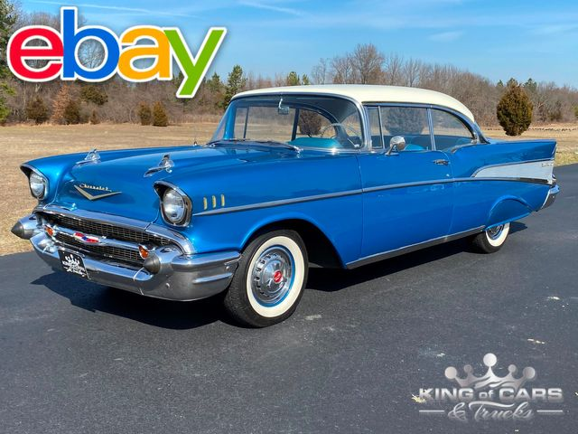 1957 Chevrolet Bel Air 2dr HARD TOP ONLY 74K MILES RARE OPTIONS MUST SEE