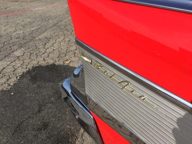 1957 Chevrolet Bel Air Hardtop Frame Off Boerne, Texas 11