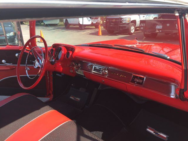 1957 Chevrolet Bel Air Hardtop Frame Off Boerne, Texas 19