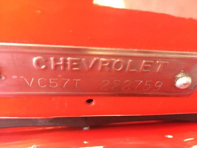 1957 Chevrolet Bel Air Hardtop Frame Off Boerne, Texas 22