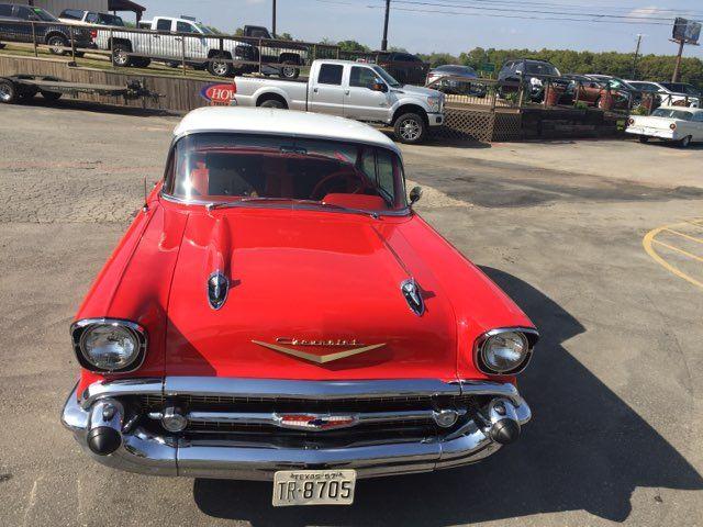 1957 Chevrolet Bel Air Hardtop Frame Off Boerne, Texas 3