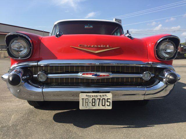 1957 Chevrolet Bel Air Hardtop Frame Off Boerne, Texas 4