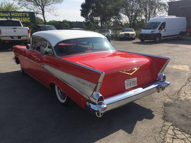 1957 Chevrolet Bel Air Hardtop Frame Off Boerne, Texas 6