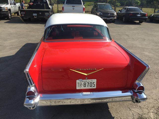 1957 Chevrolet Bel Air Hardtop Frame Off Boerne, Texas 7