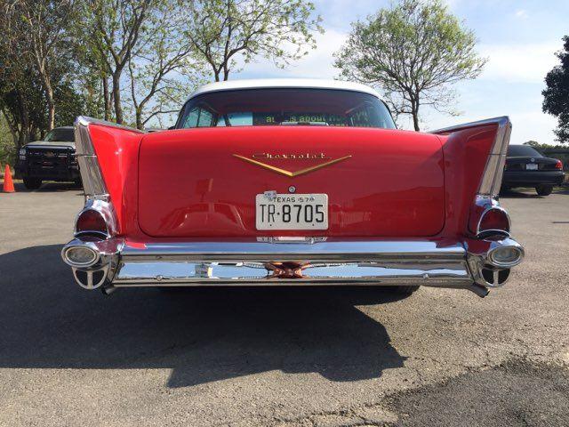 1957 Chevrolet Bel Air Hardtop Frame Off Boerne, Texas 8