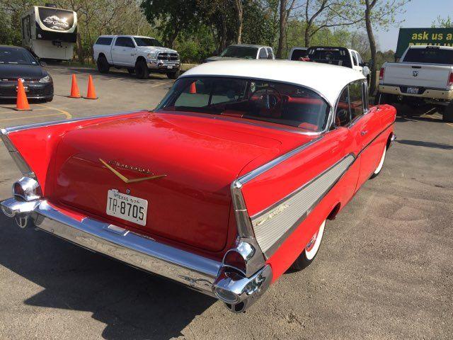 1957 Chevrolet Bel Air Hardtop Frame Off Boerne, Texas 9