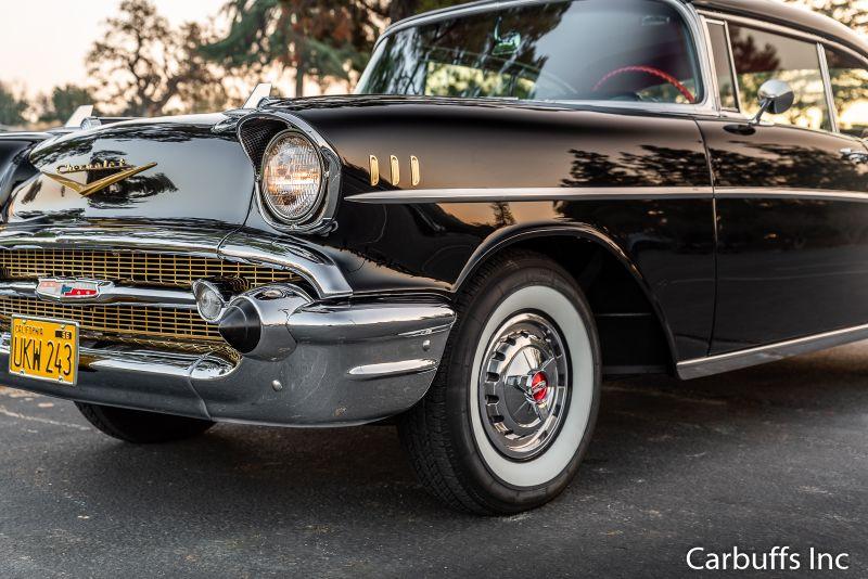 1957 Chevrolet Bel Air 2 dr Hardtop   Concord, CA   Carbuffs in Concord, CA
