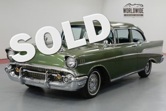 1957 Chevrolet BEL AIR  TWO OWNER. RESTORED. 350V8. TH350 AUTOMATIC. | Denver, CO | Worldwide Vintage Autos in Denver CO