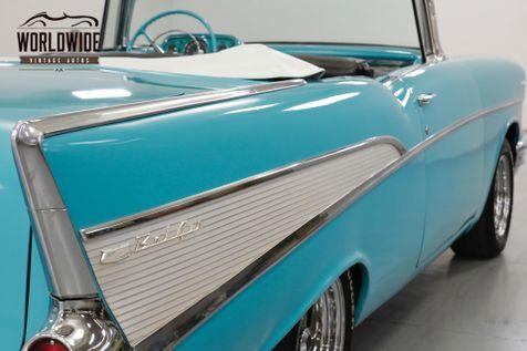 1957 Chevrolet BEL AIR CUSTOM CONVERTIBLE  | Denver, CO | Worldwide Vintage Autos in Denver, CO
