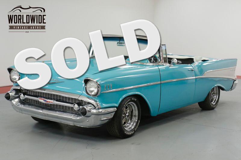 1957 Chevrolet BEL AIR CUSTOM CONVERTIBLE  | Denver, CO | Worldwide Vintage Autos