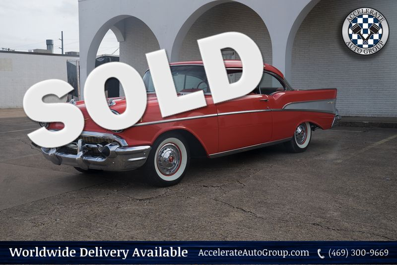 1957 Chevrolet Bel Air Freshly Rebuilt 283 Power Pack  in Rowlett Texas