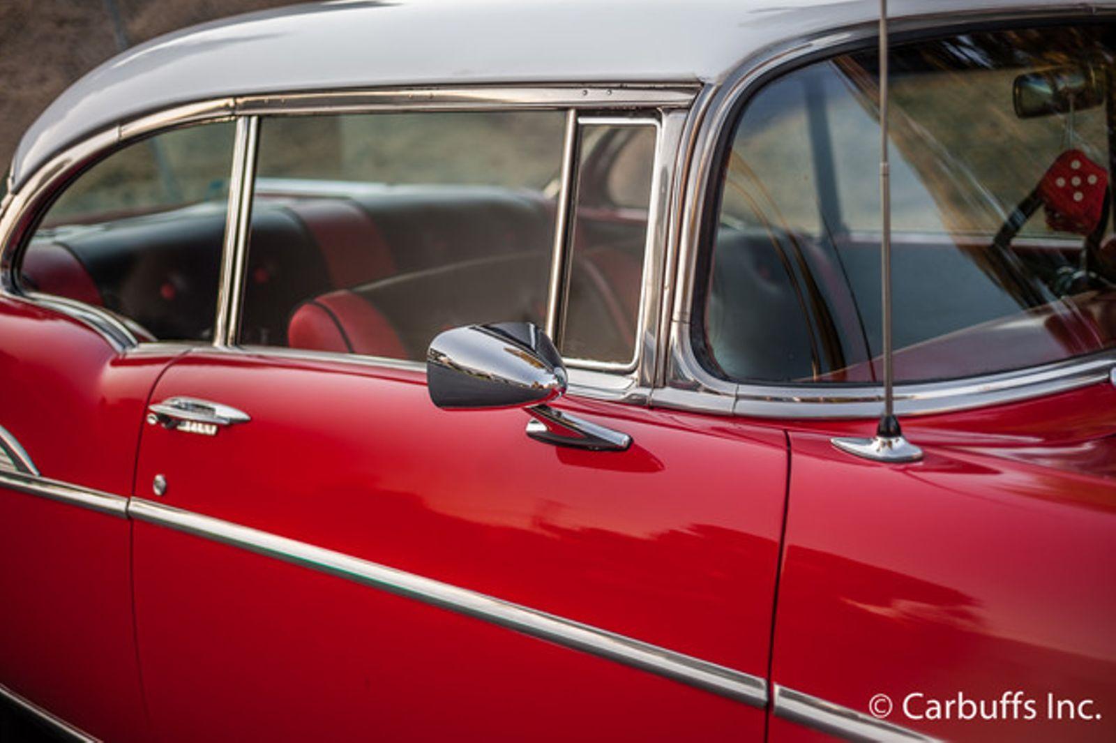 1957 Chevrolet Belair 2dr Concord Ca Carbuffs 94520 Sales Brochure In