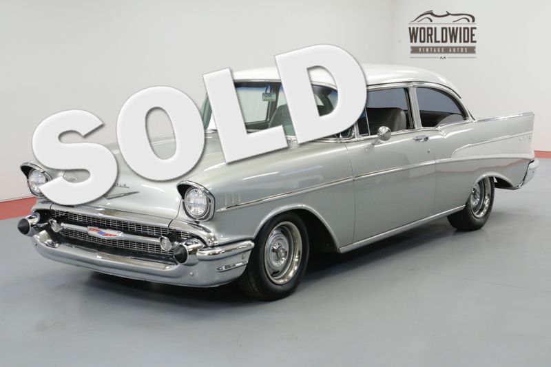 1957 Chevrolet BELAIR 383 STROKER PS PB CLASSIC | Denver, CO | Worldwide Vintage Autos