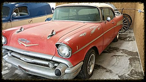 1957 Chevrolet Belair 2 Door Couple in , Ohio