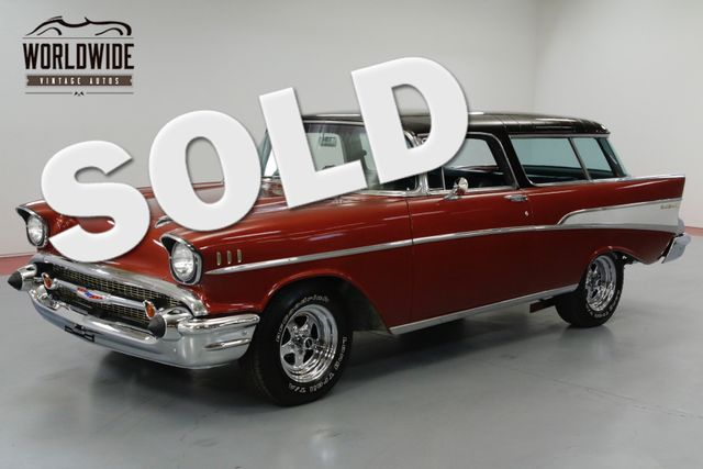 1957 Chevrolet NOMAD RESTORED, RARE. V8. NOMAD WAGON! MUST SEE!  | Denver, CO | Worldwide Vintage Autos in Denver CO
