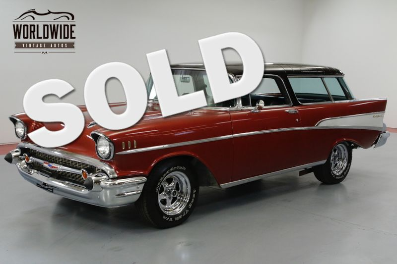 1957 Chevrolet NOMAD RESTORED, RARE. V8. NOMAD WAGON! MUST SEE!  | Denver, CO | Worldwide Vintage Autos