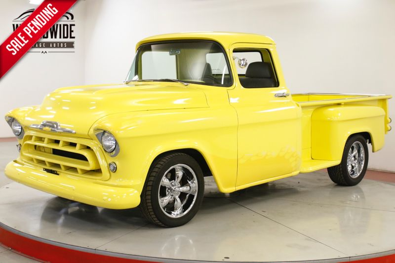 1957 Chevrolet TRUCK RESTOMOD. STEP SIDE FUEL INJECTED LT1 V8  | Denver, CO | Worldwide Vintage Autos