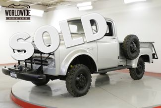 1957 Dodge POWER WAGON W100 ULTRA RARE 4x4 1 OF 216 V8 COLLECTOR | Denver, CO | Worldwide Vintage Autos in Denver CO