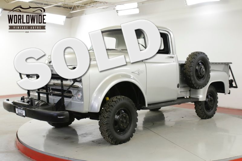 1957 Dodge POWER WAGON W100 ULTRA RARE 4x4 1 OF 216 V8 COLLECTOR | Denver, CO | Worldwide Vintage Autos