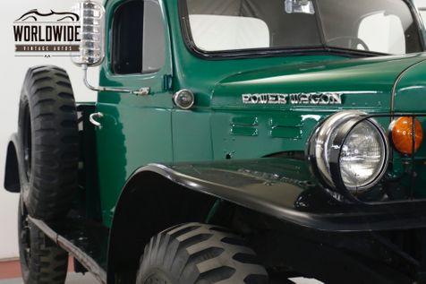 1957 Dodge POWER WAGON WDX DRY TX TRUCK RARE DISC COLLECTOR GRADE   Denver, CO   Worldwide Vintage Autos in Denver, CO