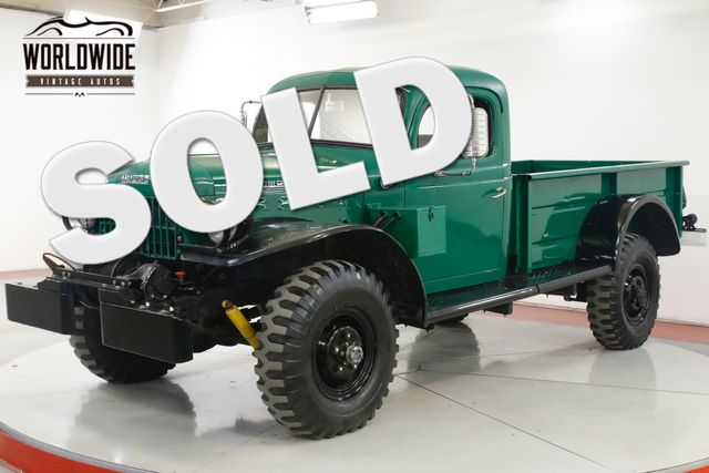 1957 Dodge POWER WAGON in Denver CO