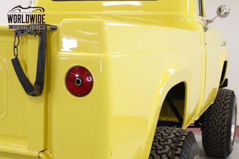 1957 Ford F100 SHORT BED BIG BLOCK V8 2500 MILES LIFT 35