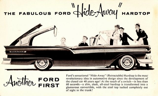 1957 Ford Fairlane 500 SKYLINER Retractable in Boerne, Texas 78006