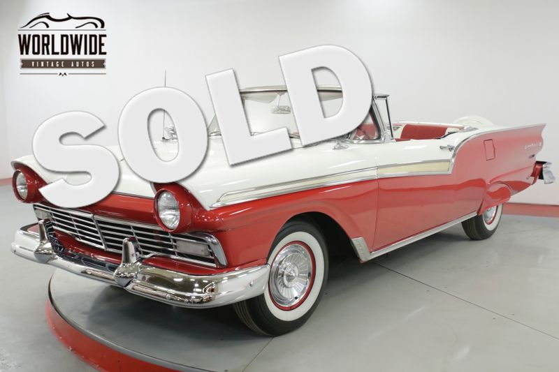 1957 Ford FAIRLANE RARE. MADE 3 YEARS RETRACTABLE TOP RESTORED | Denver, CO | Worldwide Vintage Autos