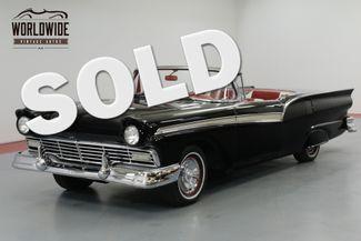 1957 Ford FAIRLANE SYKLINER RARE CONVERTIBLE HARD TOP. 312 V8! AUTOMATIC  | Denver, CO | Worldwide Vintage Autos in Denver CO