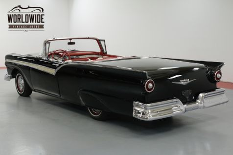1957 Ford FAIRLANE SYKLINER RARE CONVERTIBLE HARD TOP. 312 V8! AUTOMATIC  | Denver, CO | Worldwide Vintage Autos in Denver, CO