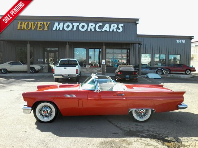 1957 Ford Thunderbird Convertible Boerne, Texas 0
