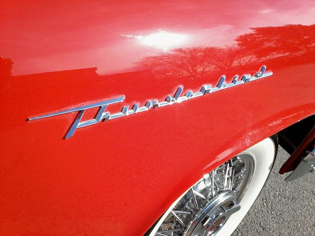 1957 Ford Thunderbird Convertible Boerne, Texas 17